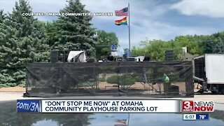 """""""Don't Stop Me Now"""" at Omaha Community Playhouse Parking Lot"""