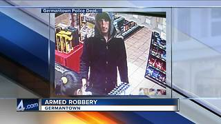 Germantown police: Gas station robbed at knifepoint - Video