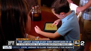 Nation's largest autism study looking for participants - Video