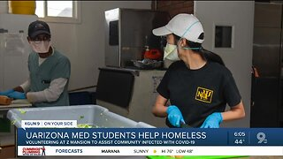 UArizona Medical students help homeless during COVID-10 pandemic