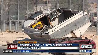 County investigating dumping ground eyesore - Video