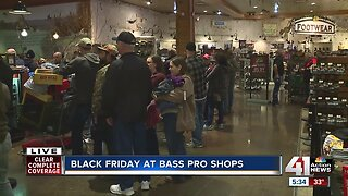 Shoppers line up early for Black Friday deals