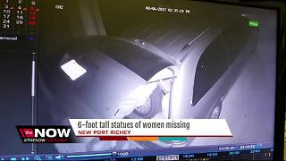 6-foot tall statues stolen in New Port Richey - Video