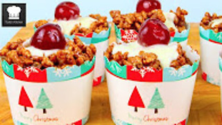 Christmas crackle cupcakes: No-bake - Video