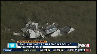 FAA investigating small plane crash in Florida Everglades - Video
