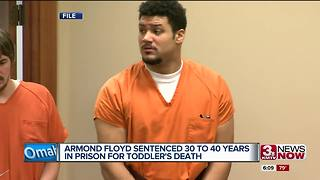 Armond Floyd sentenced for toddler's death - Video