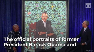 Obama Portraitist Known for Paintings of Decapitated White People - Video