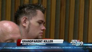 Man gets life sentence for murdering his grandparents - Video
