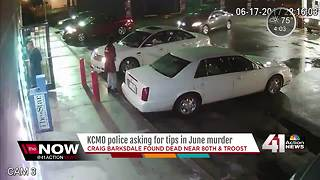KCPD want help solving Craig Barksdale's murder - Video