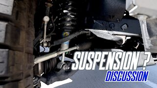 Answering Questions About My Suspension.