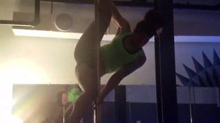 Swinging on the pole! - Video