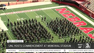 UNL hosts first in-person commencement since 2019 at Memorial Stadium