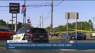 Trooper-involved shooting on Dixie Highway