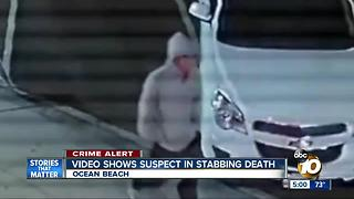 New video shows suspect in deadly OB stabbing - Video