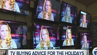 TV buying advice for the holidays - Video
