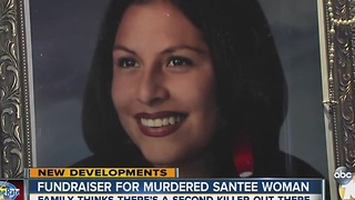 Fundraiser for murdered Santee woman - Video