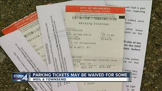 Some winter parking violations could be forgiven - Video