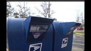 Warning: Checks stolen from mailboxes