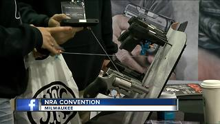 NRA Conceal Carry Expo takes over Wisconsin Center - Video