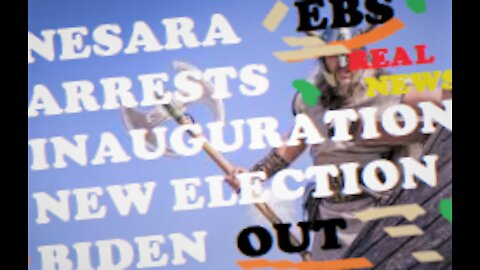 UTSAVA:The truth about 'Biden's Inauguration'-NEW ELECTION-NESARA-Military Arrests-DISINFO-BTC.