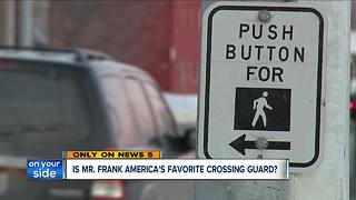 Is Mr. Frank America's Favorite Crossing Guard? - Video