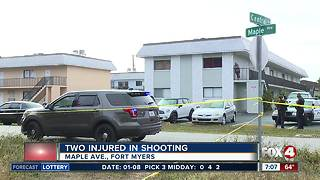 Two injured in Maple Ave. Shooting