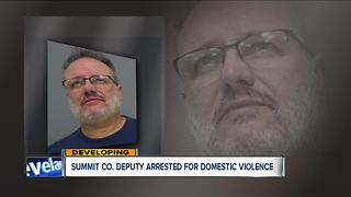 Summit County deputy, who previously served as Canal Fulton mayor, arrested for domestic violence - Video