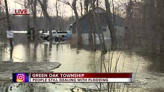 Green Oak Township residents still dealing with flooding - Video