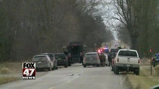 Law enforcement have suspect in custody after search
