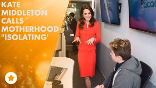 Kate Middleton gets personal about being a mom - Video