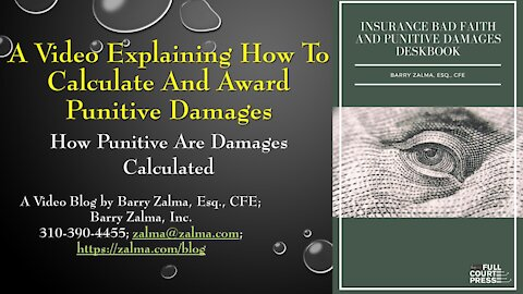 A Video Explaining how to Calculate and Award Punitive Damages
