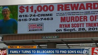 East TN Couple Uses Nashville Billboards To Help Find Son's Killer - Video
