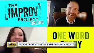 Detroit Creativity project helps kids with anxiety