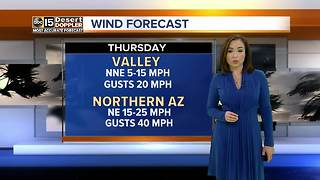 Temperatures stay in the mid 70s in Valley - Video