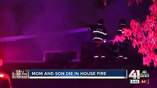 Two people dead in northeast KC house fire - Video