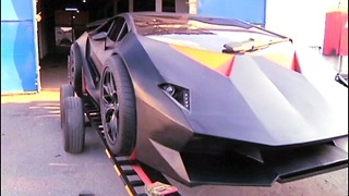 Scrap Metal Lamborghini - Video