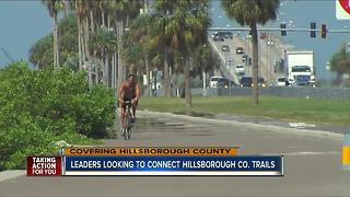Leaders looking to connect Hillsborough Co. trails - Video