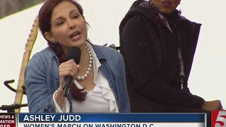 Ashley Judd Recites Franklin Teen's Poem - Video