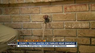 Pasco County testing drinking water after giant sinkhole brings contamination concerns