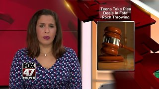 I-75 rock throwing suspects plead guilty ... for now