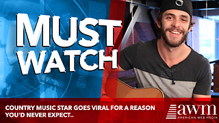 Country Music Star Goes Viral For A Reason You'd Never Expect.. - Video