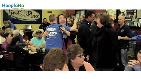 World's Friendliest Restaurant Holds Hug-A-Thon for Charity
