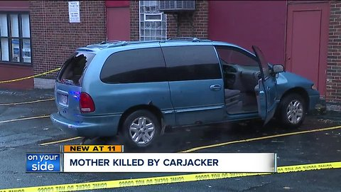 Woman killed with own vehicle after carjacking, police say