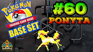 Pokemon Base Set #60 Ponyta | Card Vault