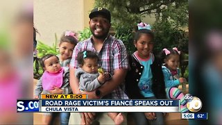 Road rage victim's daughters get early Christmas