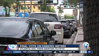 Delray Beach parking measures up for vote - Video