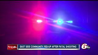 Neighbors fed-up after fatal shooting in Lawrence - Video