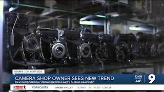 Camera shop owner sees growing interest in film photography