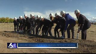 Ground breaking for new Marian Pritchett School - Video