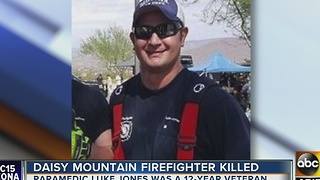 Daisy Mountain firefighter killed outside of Phoenix strip club - Video